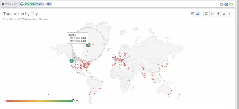 Geo Charts - AnswerDock